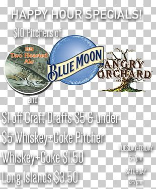Craft Beer Blue Moon Southern Illinois Logo PNG