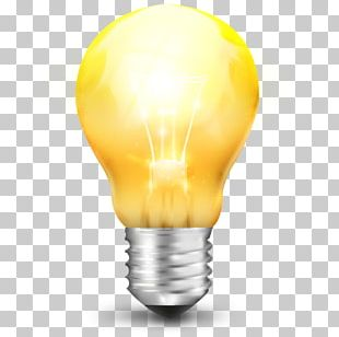 Energy Yellow Lighting PNG