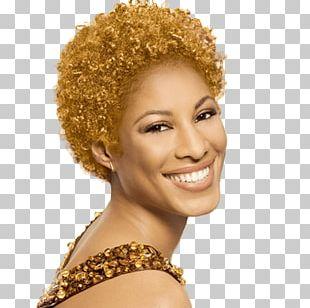 Human Hair Color Blond Hair Coloring Jheri Curl PNG
