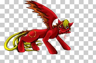 Dragon Horse Cartoon Legendary Creature PNG