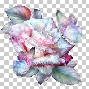 Watercolor Painting Floral Design Art PNG