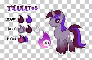 Horse Animal Legendary Creature Animated Cartoon Font PNG