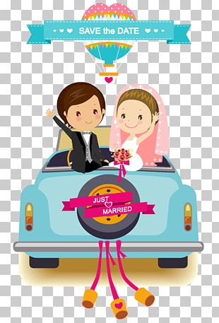 Wedding Invitation Cartoon Bridegroom PNG