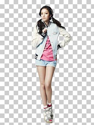 South Korea KARA Jacket Fashion Model PNG