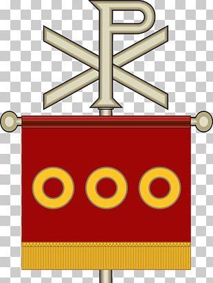 Cantabrian Labarum Chi Rho Ancient Rome Cross PNG