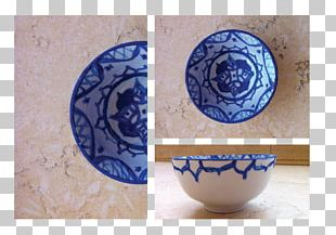 Ceramic Plate Blue And White Pottery Cobalt Blue PNG