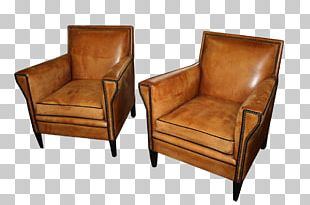 Club Chair Wing Chair Couch Furniture PNG