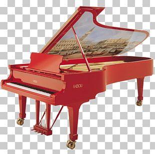 Fazioli Grand Piano Musical Instruments Digital Piano PNG