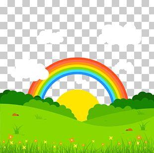 Landscape Book Of Optics Euclidean Rainbow PNG