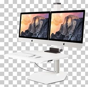 Sit-stand Desk IMac Standing Desk Flat Display Mounting Interface PNG