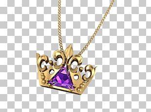 Amethyst Locket Necklace Body Jewellery PNG