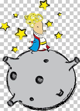 Illustrator Cartoon The Little Prince Painting PNG