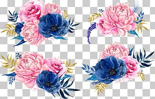 Pink Flowers Peony PNG