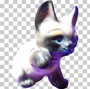 Whiskers Kitten Figurine Tail PNG