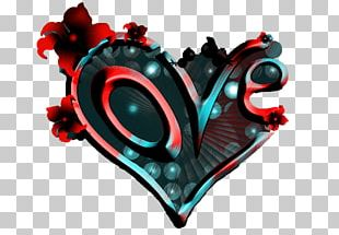 Heart Love Graphic Design PNG