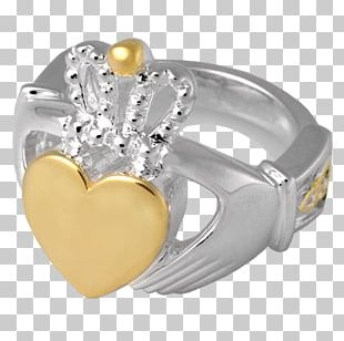 Claddagh Ring Jewellery Gold Silver PNG