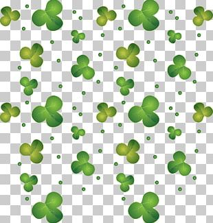 Four-leaf Clover Saint Patricks Day Euclidean PNG