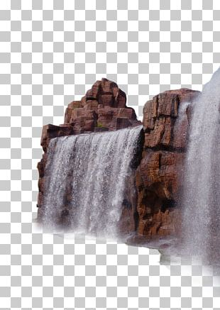 Rock Waterfall Computer File PNG