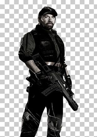 Chuck Norris The Expendables 2 PNG
