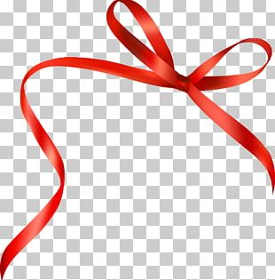 Ribbon Red Computer File PNG