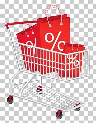 Shopping Cart Black Friday PNG