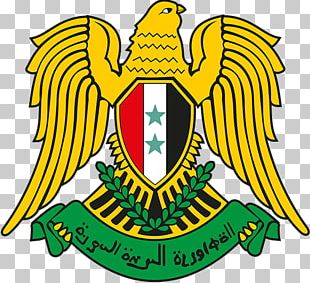 Flag Of Syria United Arab Republic Coat Of Arms Of Syria National Symbol PNG