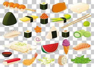 Japanese Cuisine Sushi Sashimi Nabemono PNG