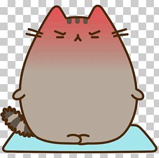 Pusheen Telegram Sticker VK PNG