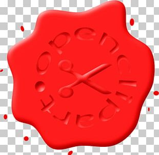 Red Sealing Wax PNG
