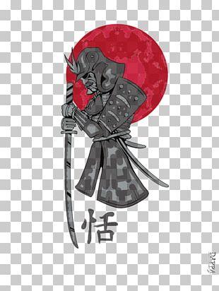 T-shirt Japan Samurai Clothing PNG
