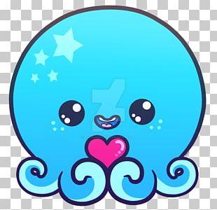 Octopus Chibi PNG