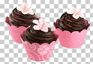 Cupcake Chocolate Cake Frosting & Icing Muffin Cream PNG