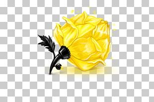 Rose ICO Yellow Icon PNG