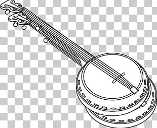 Banjo Guitar Musical Instrument PNG