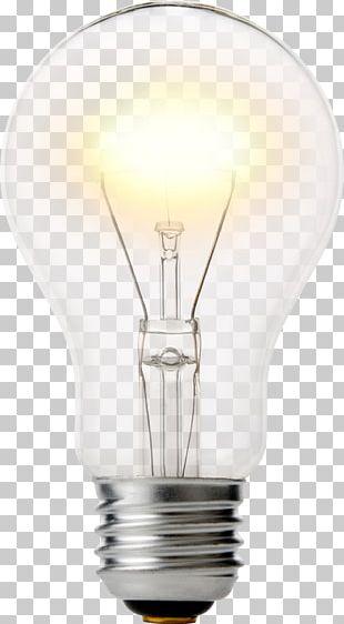 Incandescent Light Bulb Lighting Foco Lamp PNG