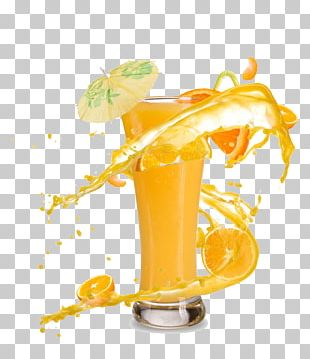 Orange Juice Smoothie Cocktail Milkshake PNG