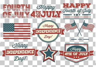 Independence Day Label PNG