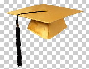 Student College Graduation Ceremony Hat PNG
