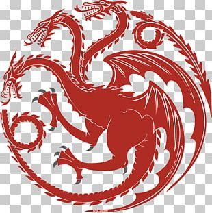 Daenerys Targaryen House Targaryen Film Fire And Blood Decal PNG