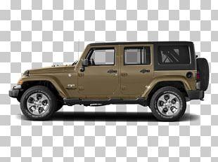 2018 Jeep Wrangler JK Unlimited Sahara Chrysler Dodge Ram Pickup PNG