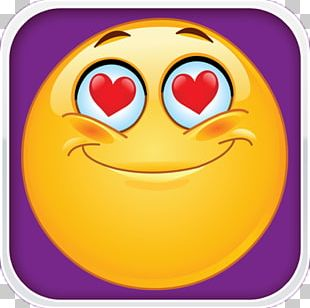 Emoticon Smiley Heart PNG