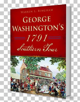 George Washington's 1791 Southern Tour Christmas Ornament History Amazon.com Book PNG