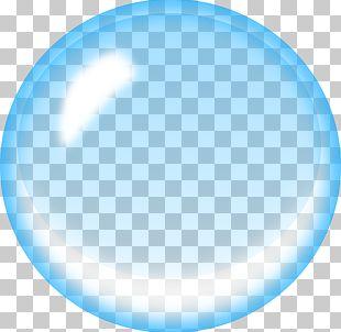 Soap Bubble Blue PNG