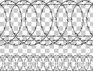 Barbed Wire Fence PNG