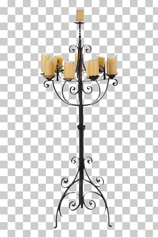 Candlestick Table Light Fixture Dining Room PNG