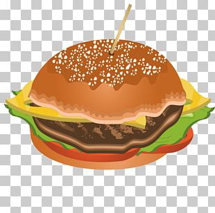 Cheeseburger Hamburger Fast Food Veggie Burger Breakfast PNG