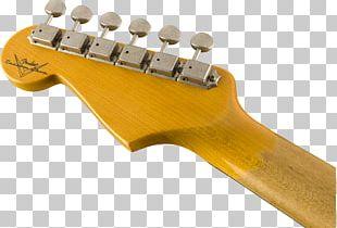 Electric Guitar Fender Stratocaster Fender Musical Instruments Corporation Fender Custom Shop Blackie PNG