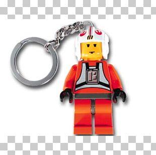 Luke Skywalker Lego Minifigure Key Chains Lego Star Wars PNG
