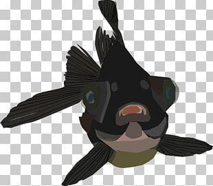 Black Telescope Dog Bird Goose PNG
