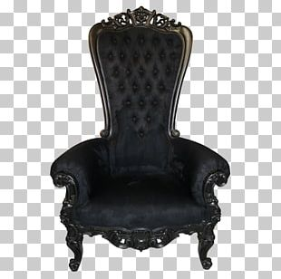 Chair Garden Furniture Throne Table PNG